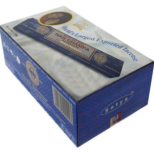 Sai Baba Satya Nag Champa Incense Sticks - (15g)