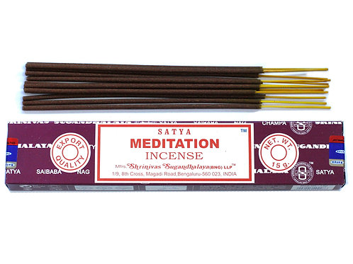 Satya Incense Sticks Meditation - 15g