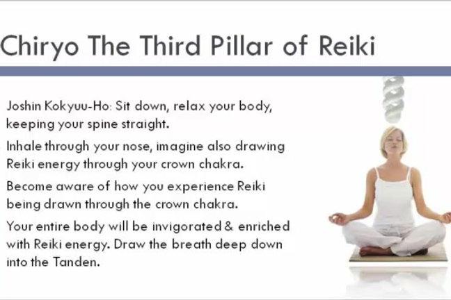 Reiki 1, 2 and 3 master/teacher - Online refresher course |  naturalhealingpaphos
