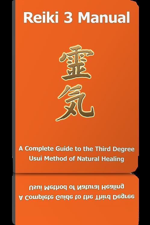 70% OFF - Reiki 3 Text Manual