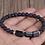 Thumbnail: Black Tourmaline Gemstone Bracelet with Matte Onyx and Lava Stone beads