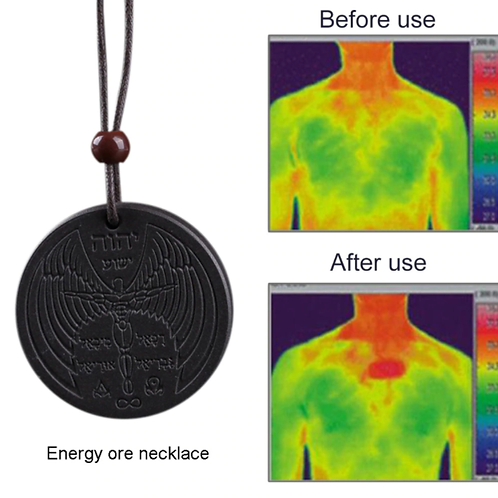Powerful Scalar Bio Energy Quantum Pendant with a chain