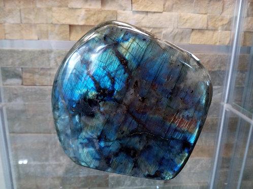 Labradorite - Crystal (Gemstone) - Extra Large Size approx. 11 x 11 x 4.5 (cm)