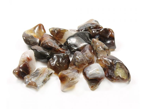 Fire Agate crystal - Size 20mm x 30mm (approximately)