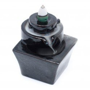 Backflow Incense Burner - Round to Square