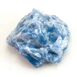 Calcite (Blue) - Rough (Gemstone) - Large size approx. 35mm x 50mm