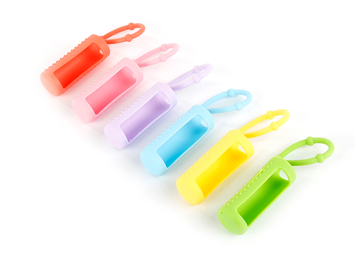 15ml Silicone Sleeve Protective Covers for Essential Oil Roller Bottles