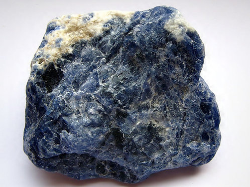 Sodalite - Natural Rough Crystal (Gemstone) - Size approx. 35mm x 40mm