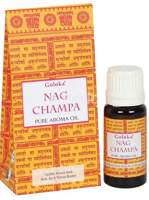 Goloka Pure Aroma Oil - Nag Champa - 10ml