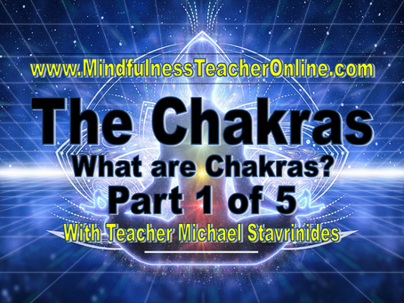 """What are Chakras? Part 1 of 5""  With Teacher Michael Stavrinides."