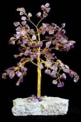 Amethyst Crystal Tree - (Large) 160 Stones