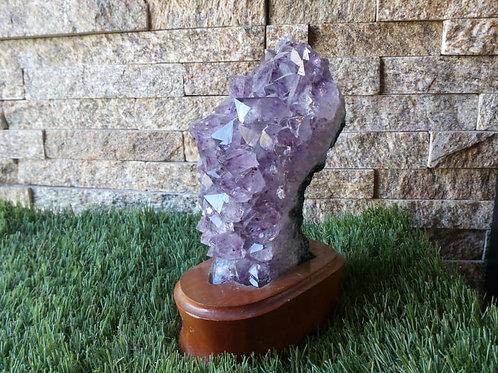 Amethyst- Crystal (Gemstone) - Extra Large approx. 14.5 x 5.5 x 5.5 (cm)