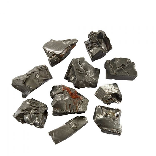 Shungite Elite Rough crystal - Size 10mm x 10mm (approximately)