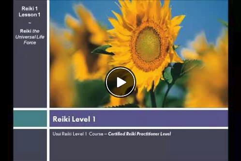 Reiki 1 Online refresher course