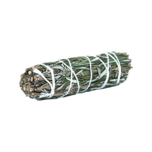 Smudge Stick - White Sage and Rosemary - 10 cm