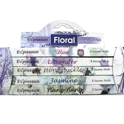 Expression Variety Incense Sticks Gift Packs - Floral