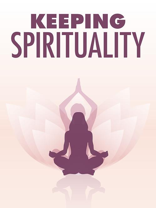 70% OFF - Keeping Spirituality - Ebook