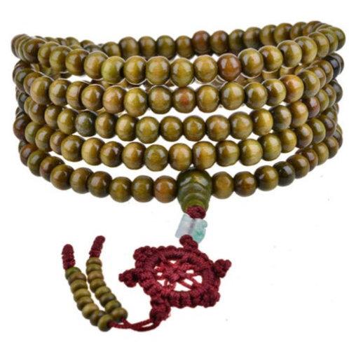 Mala 216 Beads - Sandalwood bracelet