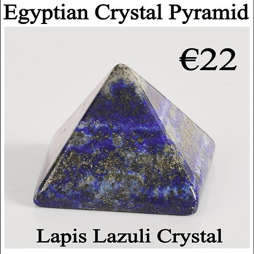 Crystal Pyramid - Lapis Lazuli crystal