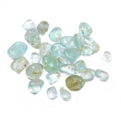 Topaz Blue crystal - Size 5mm x 15mm (approximately)