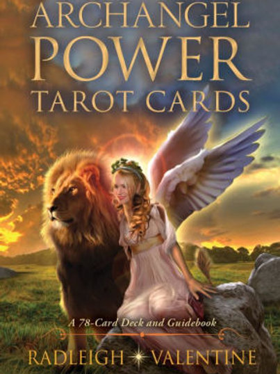 Archangel Power Tarot Cards by Radleigh Valentine