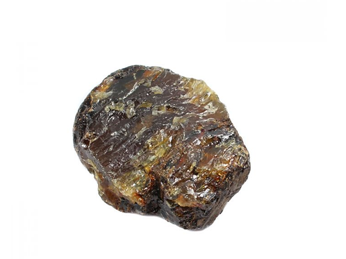 Black Amber crystal - Size 30mm x 40mm (approximately)
