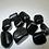 Thumbnail: Jet Black Obsidian - Tumble stone (Gemstone) - Size approx. 15mm - 20mm