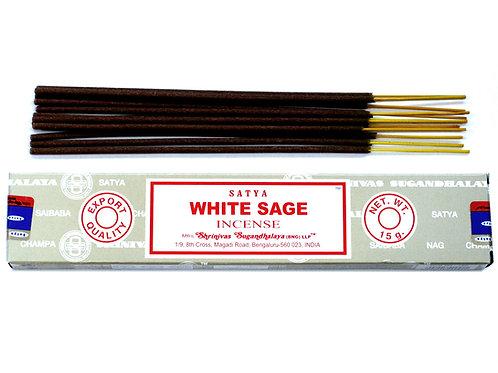 White Sage - Satya Incense 15gm