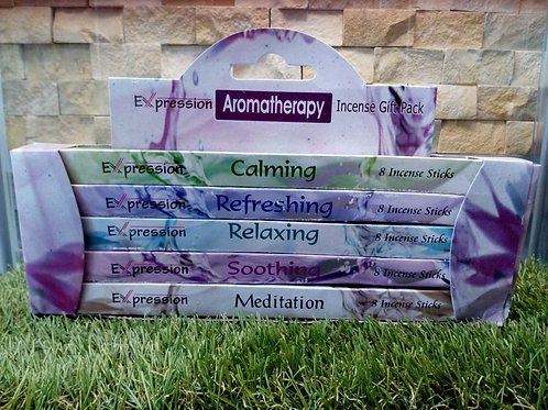 Aromatherapy - Expression Variety Incense Sticks Gift Pack