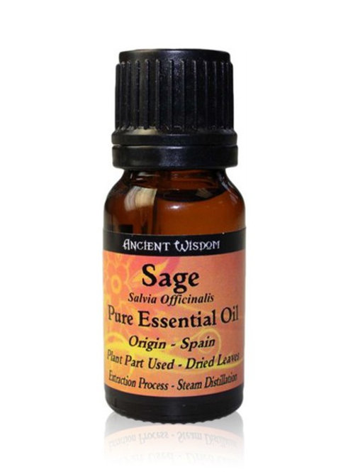 Sage Essential Oil - 10 ml
