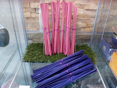 Reed Diffuser Sticks Pink or Purple - 25cm x 3mm