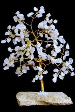 Rose Quartz Crystal Tree - (Large) 160 Stones