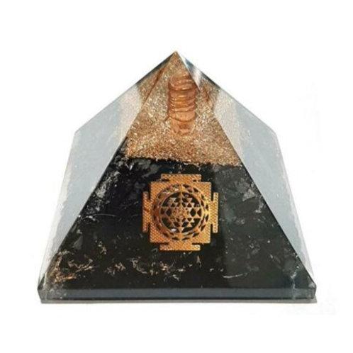 Extra Large Orgonite Shungite Pyramid - Size 70-75mm