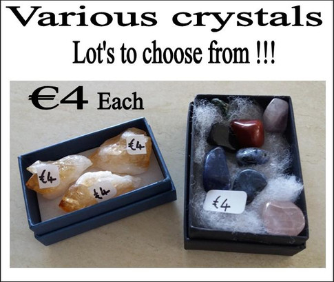 Various Crystals