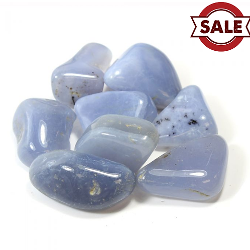 Chalcedony (Blue) crystal - Size 40mm x 50mm (approximately)
