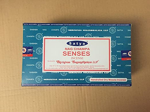 Satya Nag Champa Incense Sticks - Senses 15gm