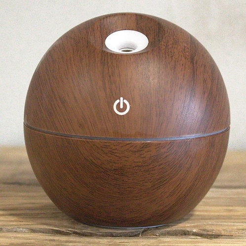 Diffuser with Colour LED Light (Ergo-globe Rosewood)