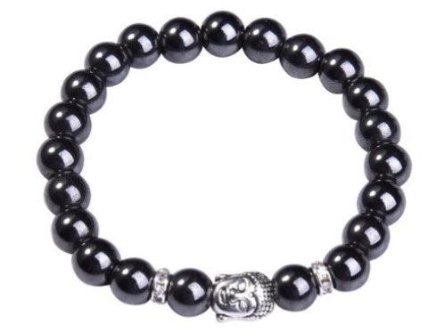 Magnetic Buddha Bracelets - Magnetite
