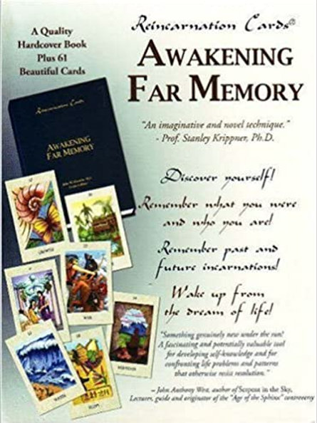 Reincarnation Cards (Awakening Far Memory) Cards Set and Book