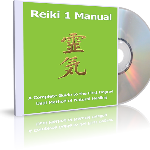 Reiki 1 audio book manual - MP3