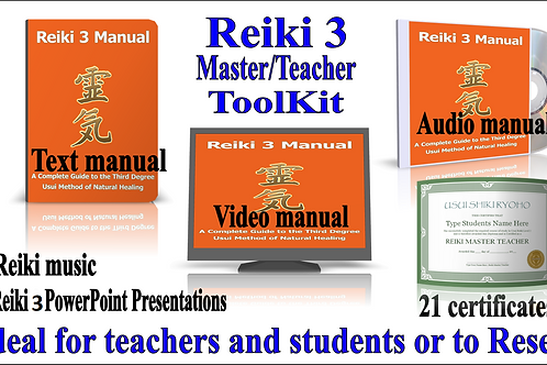 Reiki 3 Teacher Training Toolkit