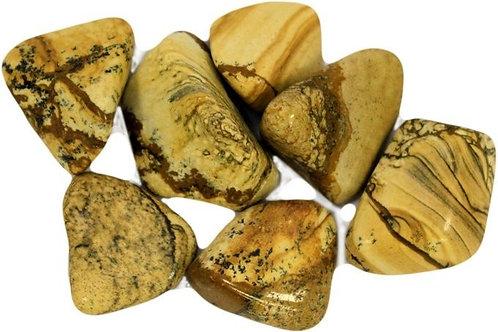 Kalahari Desert Stone - Tumble stone (Gemstone) - Large size approx. 20mm - 30mm
