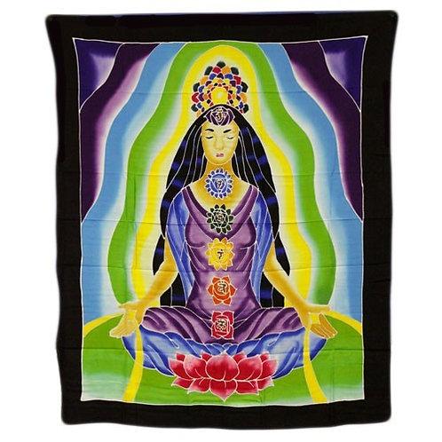 Wall Art - Chakra Meditations (Size 107cm x 84cm)