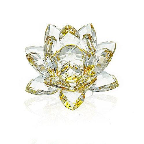 Crystal Lotus Flower - Brown