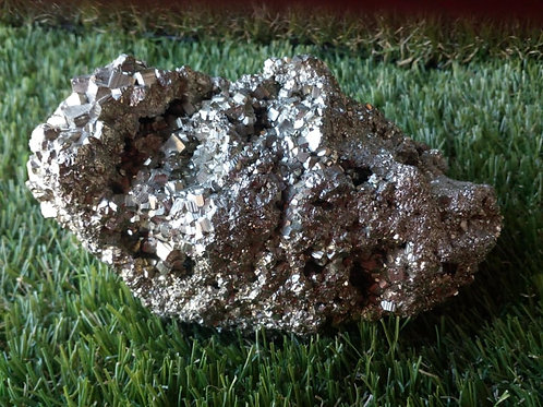 Pyrite - Crystal (Gemstone) - Extra Large Size approx. 6.5 x 13 x 6 (cm)
