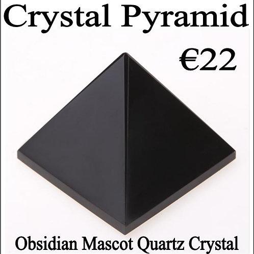 Crystal Pyramid - Obsidian Crystal
