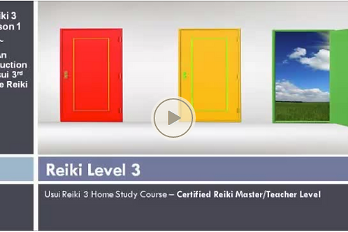 Reiki 3 master/teacher Online refresher course