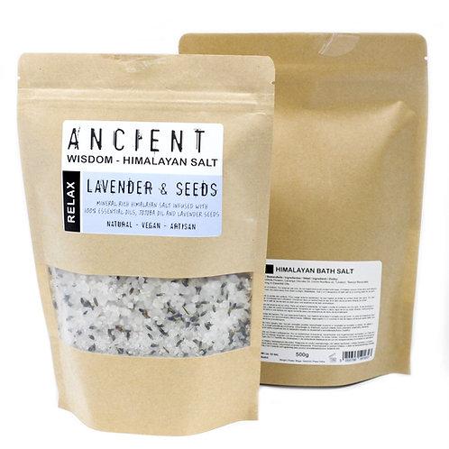 Himalayan Bath Salt Blend 500g – Relax