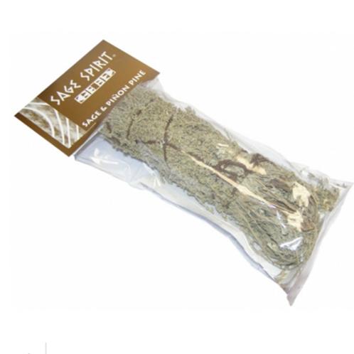 Smudge stick - Sage and Pinon Pine - Size Length 17.5cm