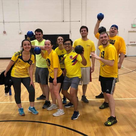 Hu lab dodge-ball playoffs